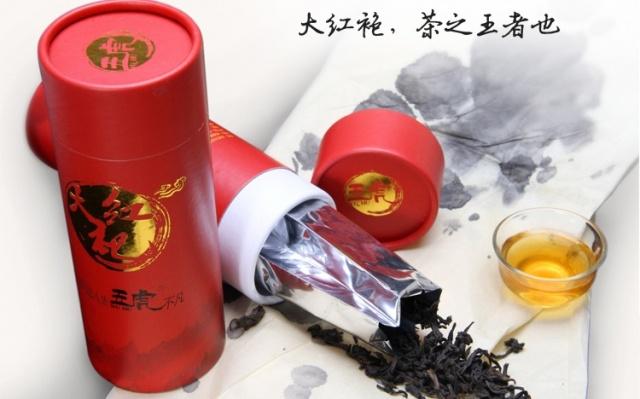 Velmi kvalitní třída Dahongpao v dárkovém balení