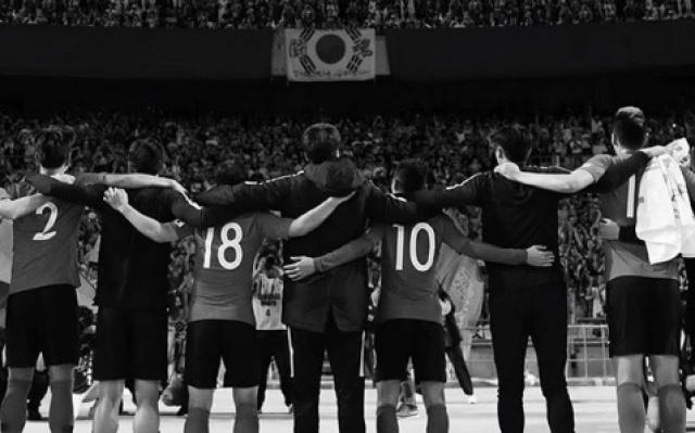 Korejská reprezentace se sloučí s fanoušky a turnajem