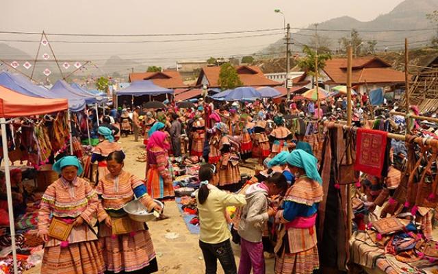 Etnické trhy ve Vietnamu