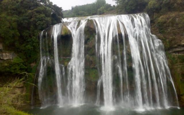 Vodopád Huangguoshu.