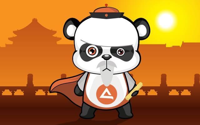 Nový maskot - Sifu Panda