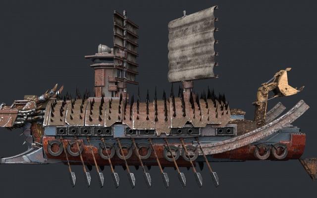 Schéma želví lodě