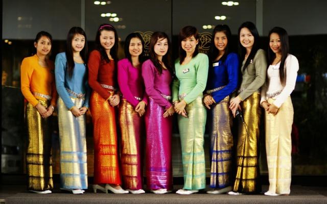 Thajské ženy