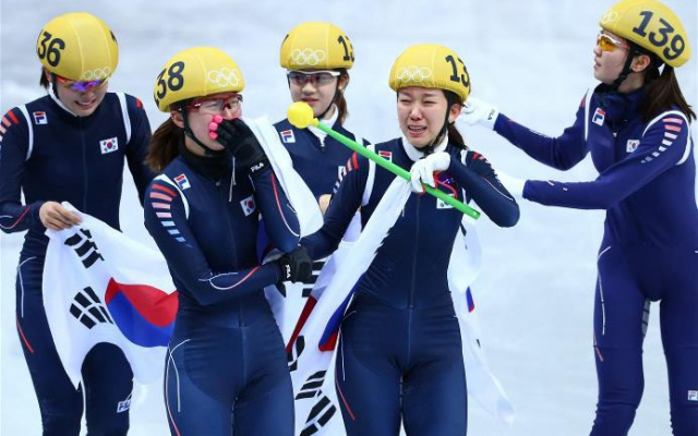 Korejské zlaté závodnice