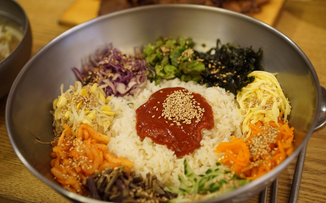 Korejský bibimbap
