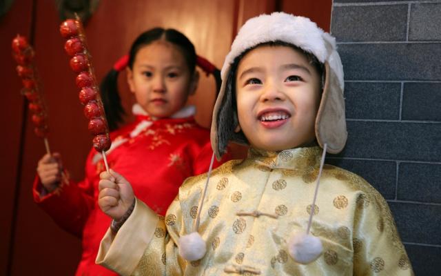 Čínské děti