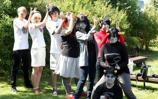 Homestuck cosplayeři