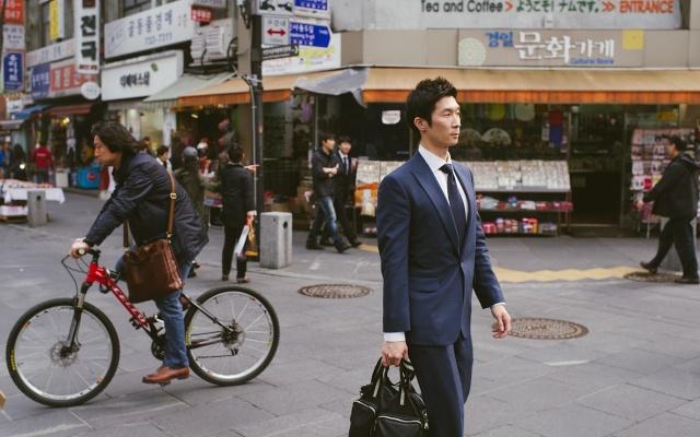 Pouliční scéna
