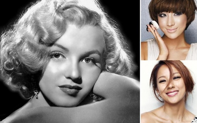 Lee Hyori a Seo In Young jako Marilyn Monroe