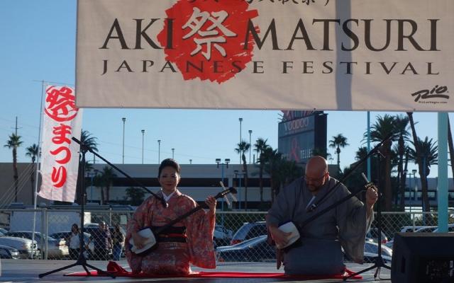 Aki Matsuri v Las Vegas
