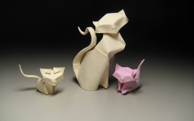 Mokré origami od Hoang Tien Quyet