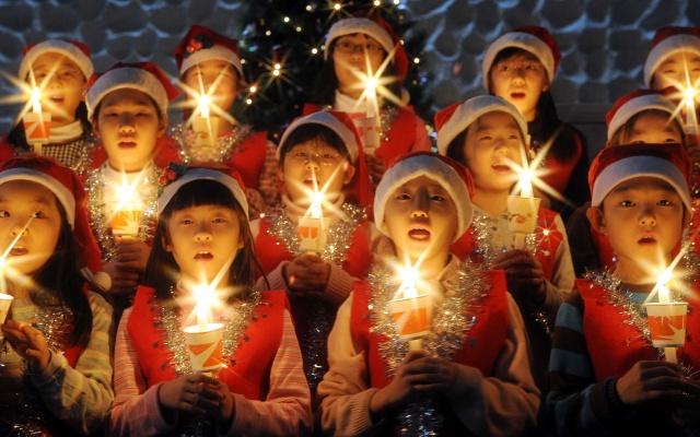 Vánoce v Koreji
