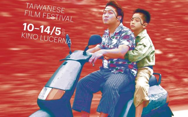 Plakát k festivalu tchajwanských filmů