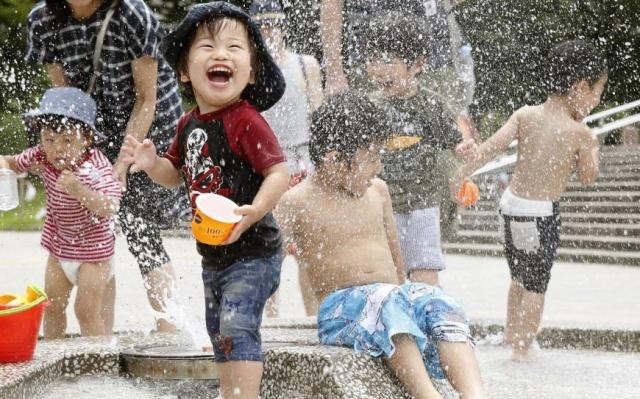 Japonské děti