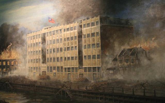 Na pevnost přeměněná budova skladiště
