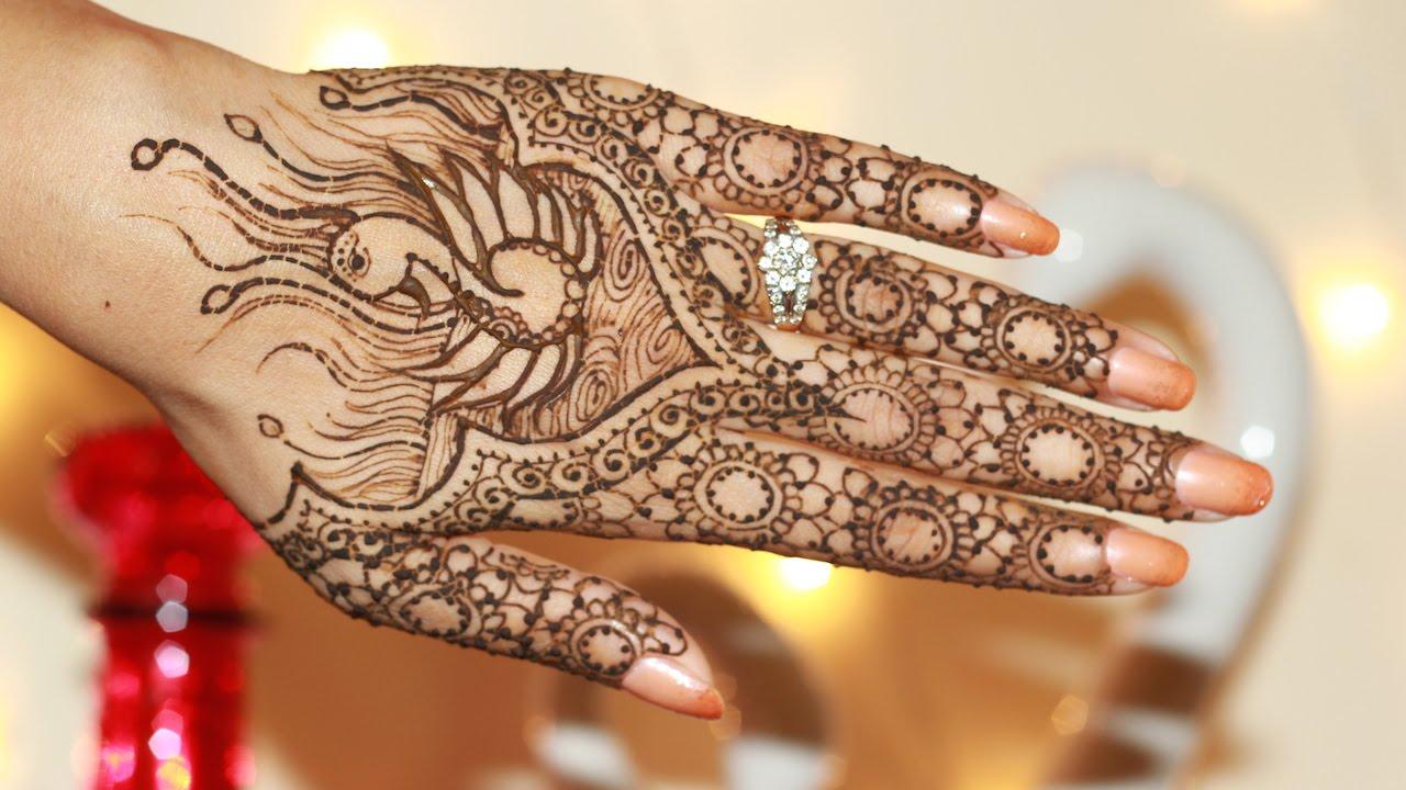 Mehndi Design Indicke Malovani Hennou Kultura Asianstyle Cz