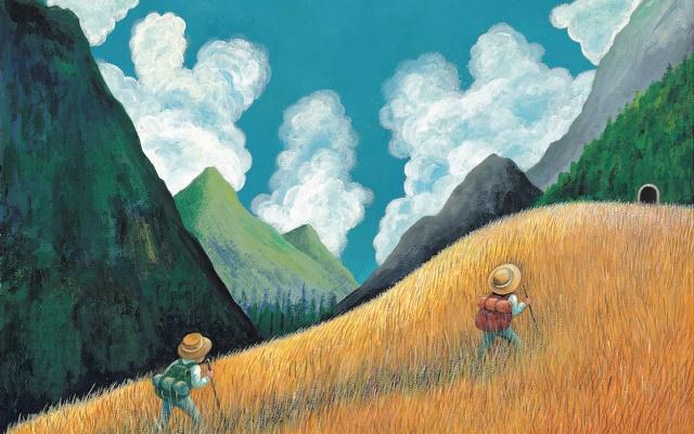 Ilustrace ke knize od Jimmyho Liaoa
