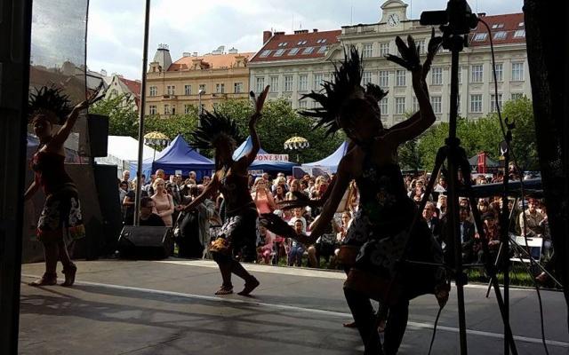 Tradičních tanců se nabídlo hned několik