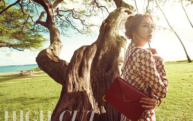 "Yoon Eun Hye pre ""High Cut"""