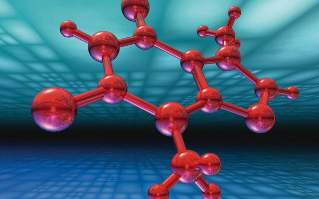 Ilustrační obrázek - atomové vazby