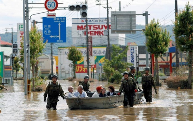 Záplavy v Kurašiki