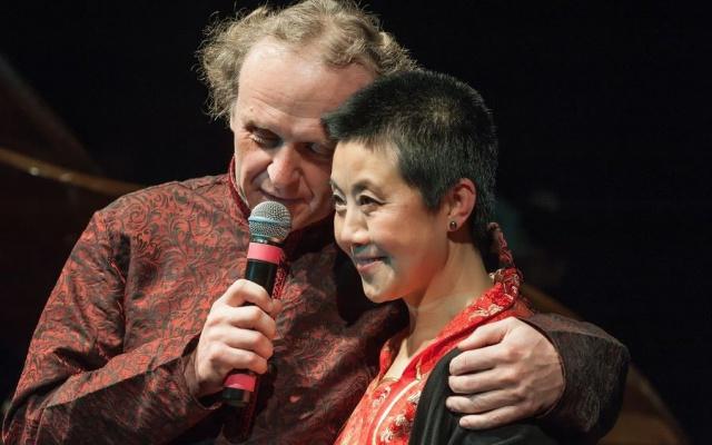 Jaroslav Dušek a Feng-yűn Song
