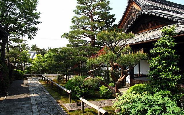 Historický chrám Shunkoin