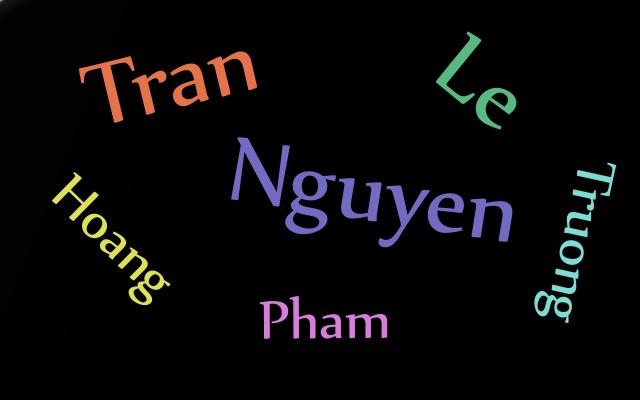 Vietnamská jména