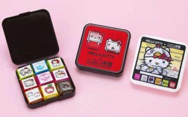 Hello Kitty x Nico Nico čokolády