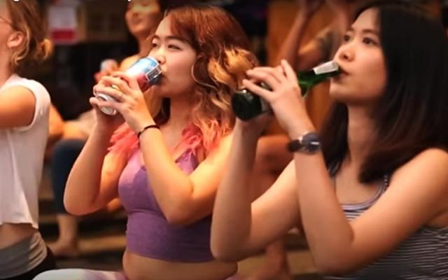 Pivní jóga