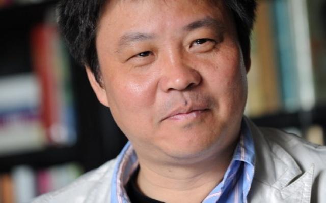 Čínský spisovatel Yu Hua v Praze