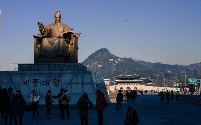 Náměstí Gwanghwamun