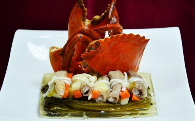 Ukázka taiwanské gastronomie