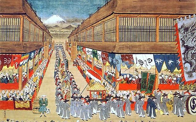 Skupina Tongsinsa v Edo