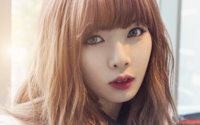 Hyuna - Zde je s makeupem