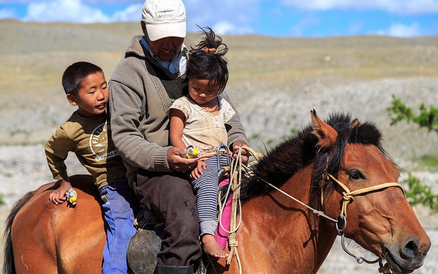 Mongolští nomádi