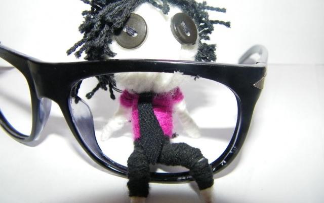 Brýle bez skel