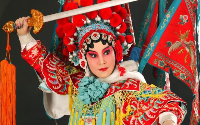 Pekingská opera - ilustrační foto