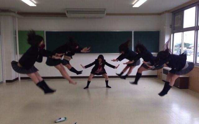 Japonské studentky