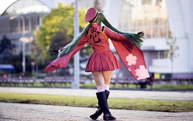 Cosplay Hatsune Miku na Animefestu 2016