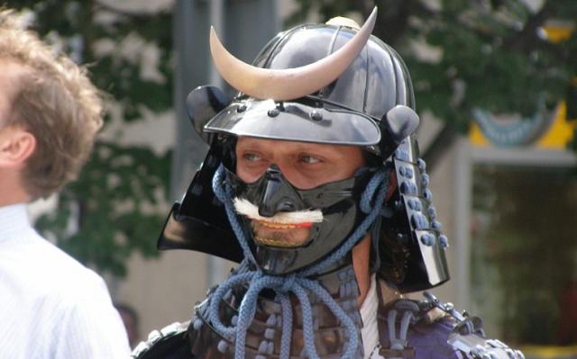 Jeden ze samurajů