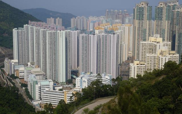 tzv. čínská králikárna - Byty v Hongkongu (ilustrační foto)
