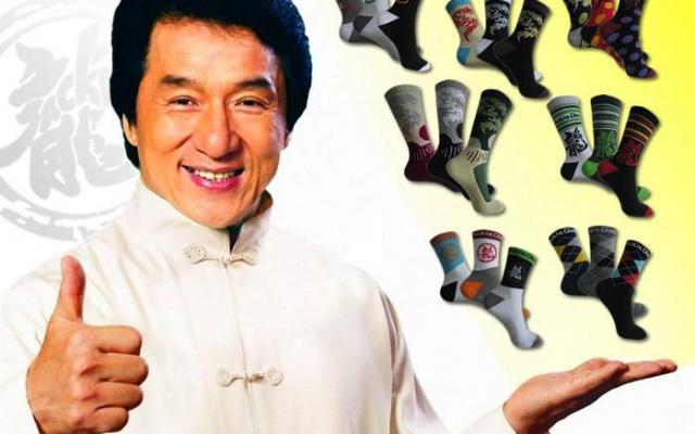 Jackie Chan DESIGN ponožky