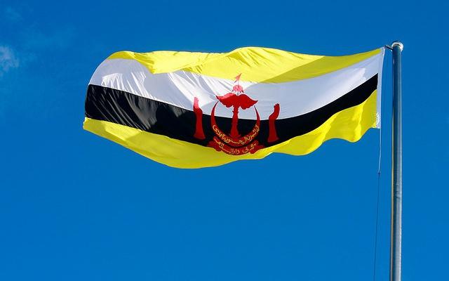 Vlajka Bruneje