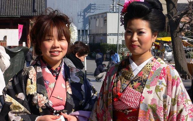 Japonské ženy