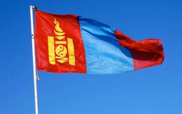 Mongolská vlajka
