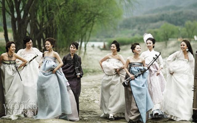 Moderní řešení tradičního hanboku