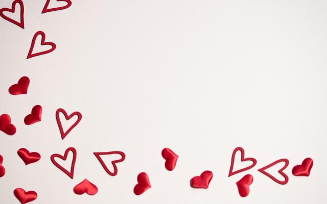 Svatý Valentýn - srdíčka