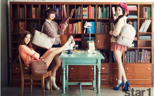 Jung Eun Ji, Son Na Eun, Park Cho Rong