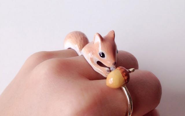 prsten veverka